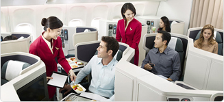 Cathay Pacific Business class flights departing Heathrow and Manchester from £3880